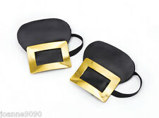 False Shoe Buckles for Pirate Witch Medieval Historical Fancy Dress Costume
