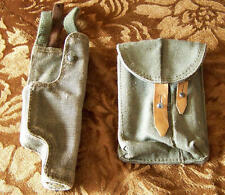 HOLSTER & POUCH for PM-63 RAK, Polish Army SPECIAL FORCE POLAND WARSAW PACT moro