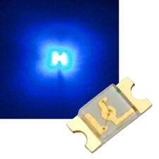 100 bleu SMD LED 1206 / BLEU BLEU BLEU AZUR MINI- SMDs Del
