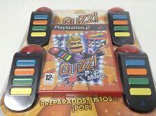BUZZ! POP MUSIC 40 PRINCIPALES + PULSADORES Pal España..Envio Certificado.Paypal
