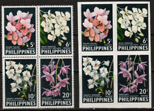 Philippines 1962 Orchids Flowers Waling-Waling 4v perf + Imperforate mint NH