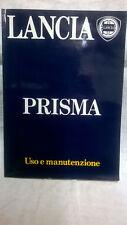 Lancia PRISMA 1300 1500 1600  uso e manutenzione 1983