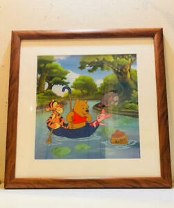 Disney Pooh's Honey Hunt Limited Edition Sericel Animation cel Good condition
