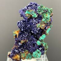 BEST NATURAL Azurite/Malachite crystal minerals specimens from China   Y129