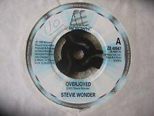 "STEVIE WONDER - OVERJOYED   ORIGINAL MOTOWN 7"" ZB 40567"