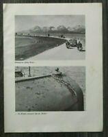 AQ) Blatt 2.WK 1940 Hohe Tatra Motorrad Krad Auto Lkw Drohobycz Petroleum Fabrik