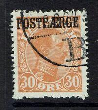 Denmark Sc# Q5, Used, Hinge Remnant, few pulled perfs - Lot 041217