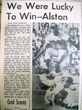 <1959 newspaper La Dodgers win Nl baseball championship & are in World Series