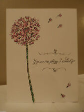 You Are Everything I Wished For Be Mine CARD Happy VALENTINE Day Love ELEGANT