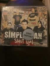 Simple Plan Shut Up 3 Track cd-single 2004 Punk Rock