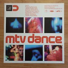 Mtv Dance Promo Poster Very Rare