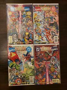 DC Comics vs Marvel Comics / Marvel Comics vs DC Comics, #1-4 of 4, NM