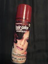 temporary Maroon hair color spray Shampoo Out
