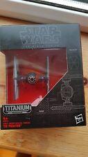 Star Wars Titanium Noir Série de premier ordre forces spéciales Tie Fighter #04 Entièrement neuf dans sa boîte