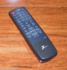 Genuine Zenith (R-35A09) Pre-Programmed TV / VRC Remote Control w/ Battery Cover