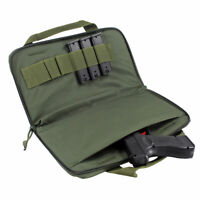 Tactical Pistol Handgun Bag Magazine Pouch with 6 double stack magazines