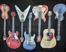 Guitars 50x60 Polar Fleece Throw Blanket
