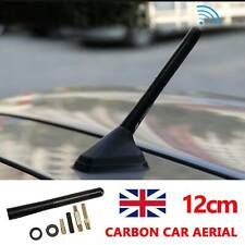 CAR BEE-STING STUBBY SHORT BLACK CARBON FIBRE AERIAL ARIEL ARIAL MAST ANTENNA UK