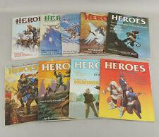 Avalon Hill Heroes RPG Magazine Lot 9 Issues Vol I #1-6 & Vol II #2-4 RuneQuest