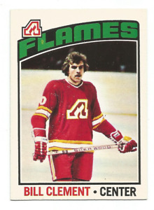 1976-77 O-Pee-Chee #82 Bill Clement Atlanta Flames