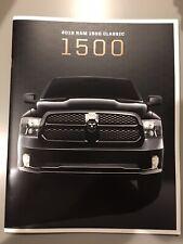 2019 DODGE RAM 1500 CLASSIC 42-page Original Sales Brochure