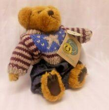 Eddie Bean Bauer Boyds Bear  Bearwear Collection plush stuffed teddy patriotic