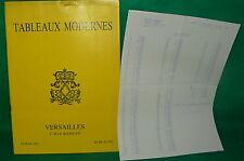catalogue vente enchères VERSAILLES Tableaux modernes + liste prix de vente (11)