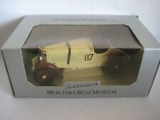 New In Box Bburago Mercedes-Benz SSKL 1931 Diecast Car 1:18 Made In Italy Museum
