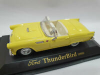 Ford Thunderbird 1955 escala 1/43 Die Cast Metal