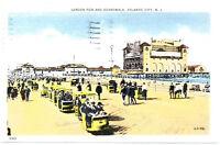 ATLANTIC CITY NJ – Garden Pier and Boardwalk - 1940