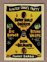 Winter Dance Party '59 Buddy Holly, Clear Lake Iowa w/facsimile autographs