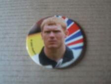 Pog Foot - Coupe du monde 2002 - Angleterre - N°87 - Scholes