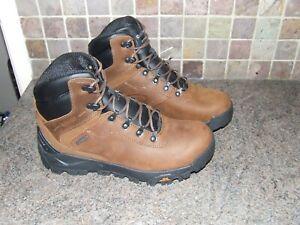 Hi-Tec Mens Altitude Infinity AL Mid Waterproof Brown Walking Boots  size 8