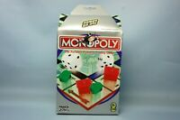 HASBRO PARKER Monopoly Board Game Portable compact Game Travel Storage Case