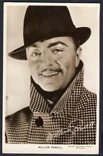 William Powell Single Collectable Actor Postcards