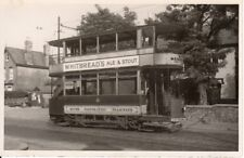 Old Photograph of  Dover Tram  at the Maxton Terminus
