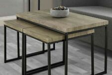 3-Piece Coffee Table Set - Includes Nesting Tables