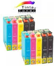 10 CARTUCHOS DE TINTA COMPATIBLE NON OEM PARA EPSON WF-2750DWF T1631/2/3/4