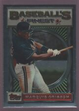 MARQUIS GRISSOM MONTREAL EXPOS 40 1993 93 TOPPS FINEST RARE BASE CARD MINT SP