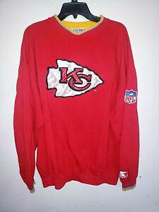 Mens Vintage Pro Line Starter Kansas City Chiefs Sweatshirt Size XL