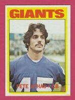 1972 Topps # 48 Pete Athas - Giants - Box 734-142