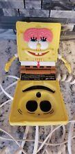 2003 Viacom Nickelodeon Spongebob Squarepants Landline Flip Phone W/Cord
