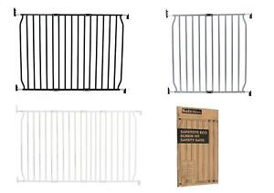 Safetots Eco Screw Fit Stair Baby Gate Safety Barrier 70cm - 140cm