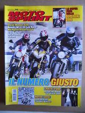 MOTOSPRINT n°50  2006     [Q30] DUCATI MONSTER S4RS BENELLI TNT 1130 MV BRUTALE