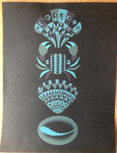 """Joanna Newsom, Adrian Johnson Indie Rock Art,Mini Poster 14 x 10 3/4"""" A1"""