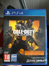 Ps4-Call Of Duty: Black Ops 4 Specialist Edition [Fr] (Ps4) GAME NEW