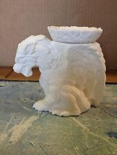 Small Panther Gargoyle Candleholder Ceramic Bisque Ready To Paint Renaissance