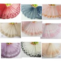 1 Yard Delicate  Embroidered Flower Tulle Lace trim Wedding/sewing/craft Lace 61