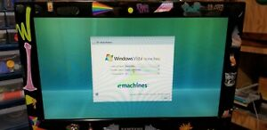 eMachines ET1810-01 factory software Windows Vista in great shape