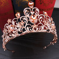 New Crystal Bridal Tiara Crown Wedding Accessories Bridal Jewelry Hair BandRDFU